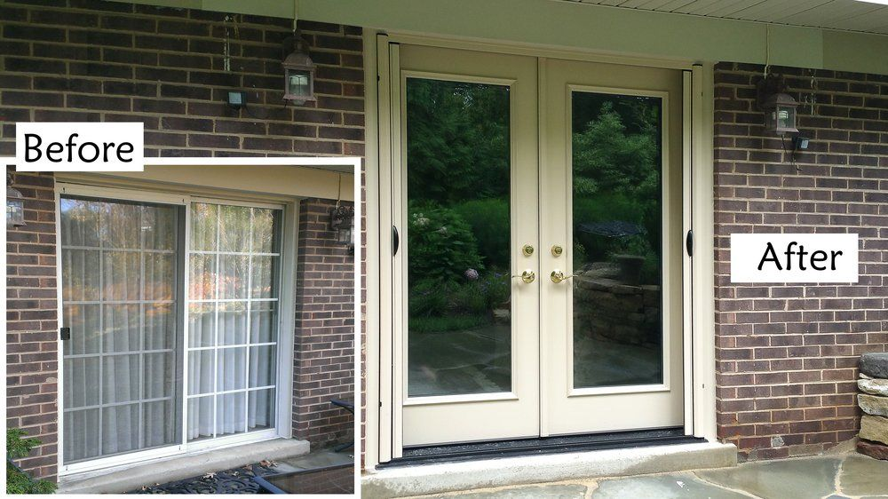 Sliding Doors With French